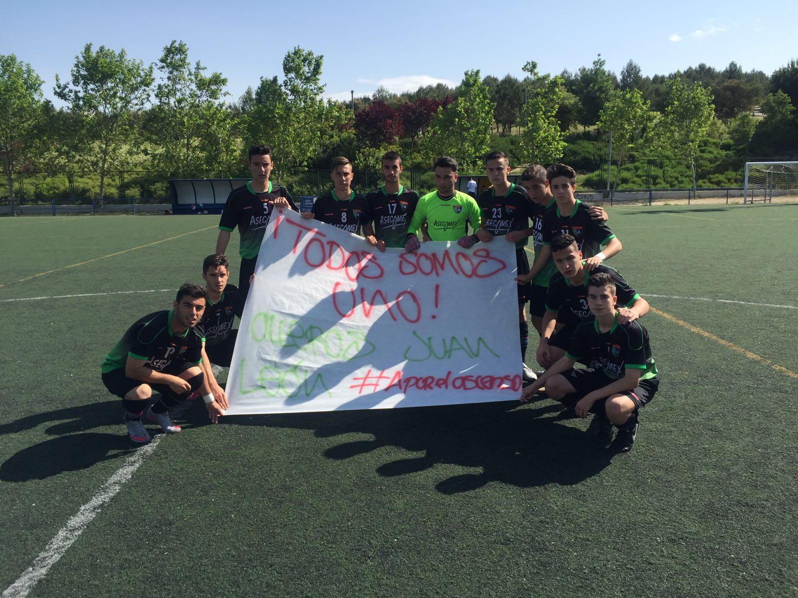 Crónica y fotos del partido de liga EDM Juvenil D 0 – 0 Fundación Rayo Vallecano A