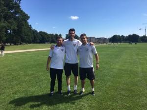 Miguel Barrio, Álex Carballo y Jorge García impartieron satisfactoriamente un Camp en Copenhague