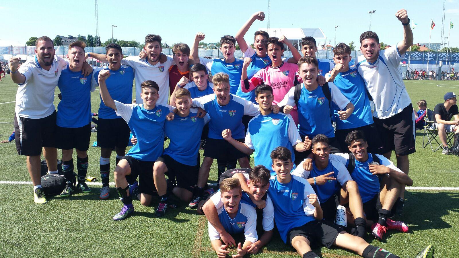 El Cadete A queda subcampeón de la Gothia Cup