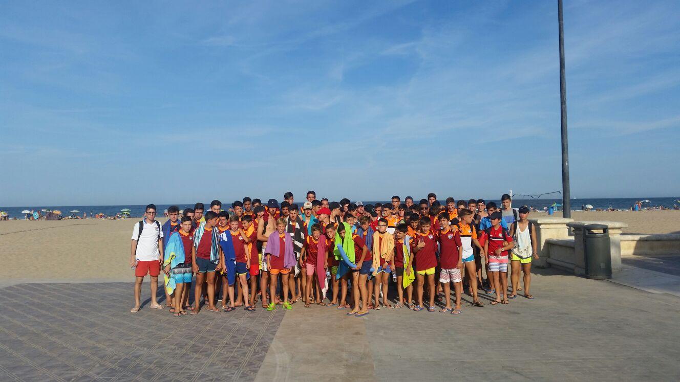 Así fue el fin de semana en Valencia para Juvenil B, Cadete A e Infantil A