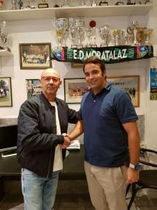Firma de la renovación del alquiler de las instalaciones de la EDM