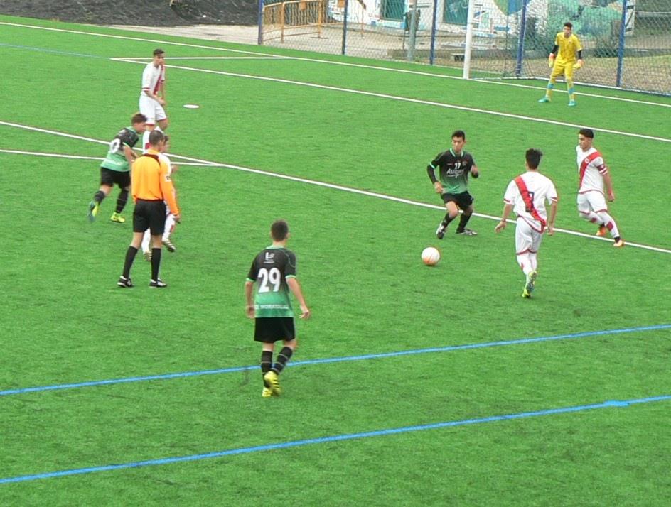Crónica y fotos del partido Cadete A 1 – 5 Rayo Vallecano B