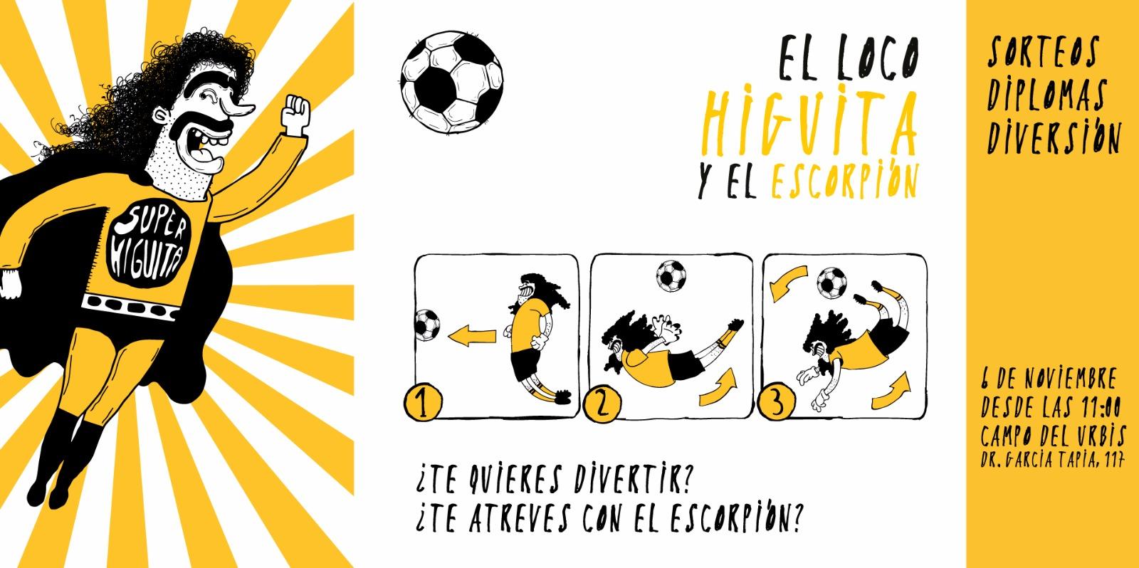 """El domingo, durante el partido del Primer Equipo, se presentará el libro """"El Loco Higuita Y El Escorpión"""""""