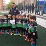 Benjamín A y Chupetín B en 3ª Edición Fútbol In Cup Noviembre