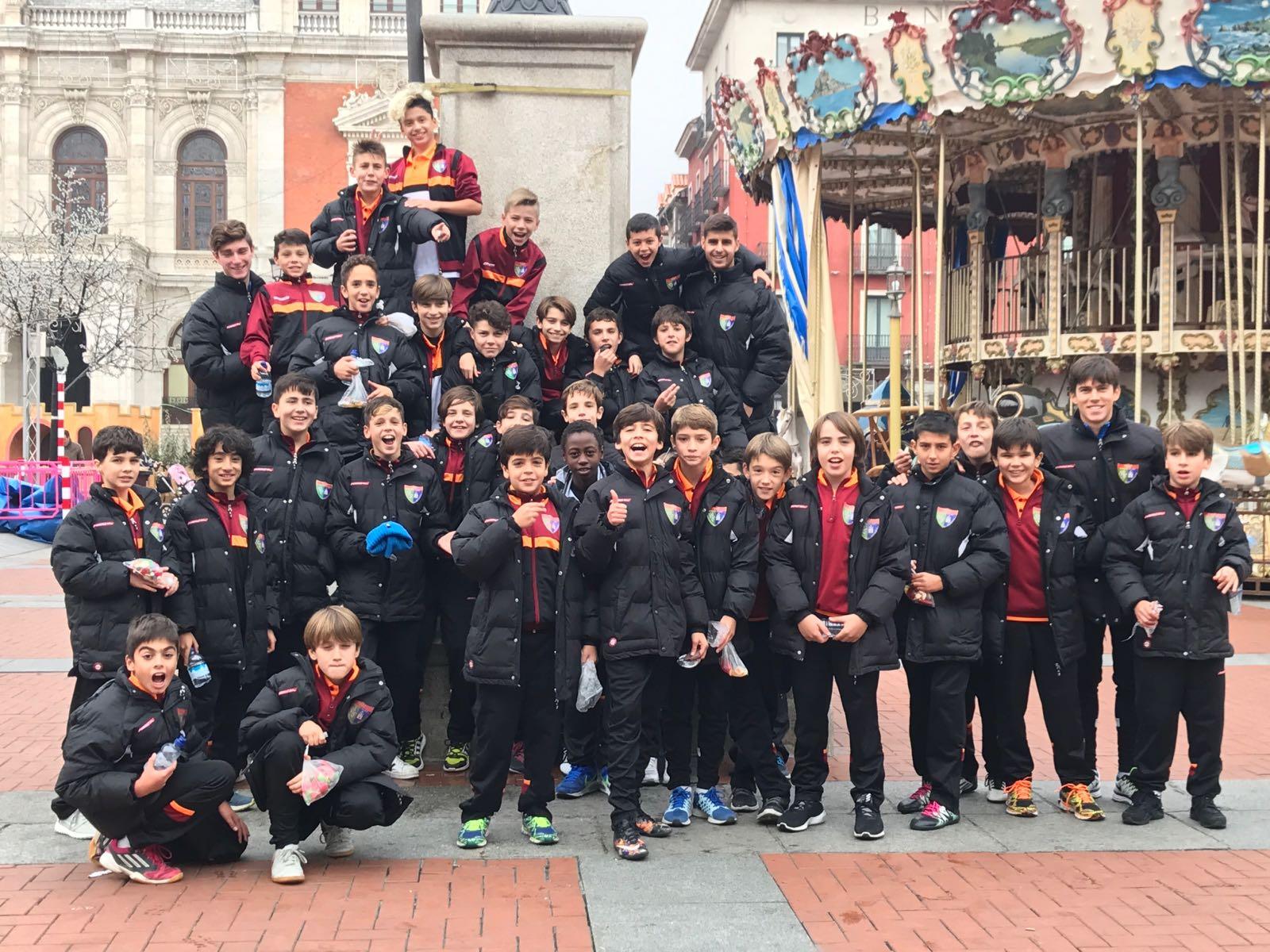Fotos de la visita de Alevín A e Infantil C a Valladolid