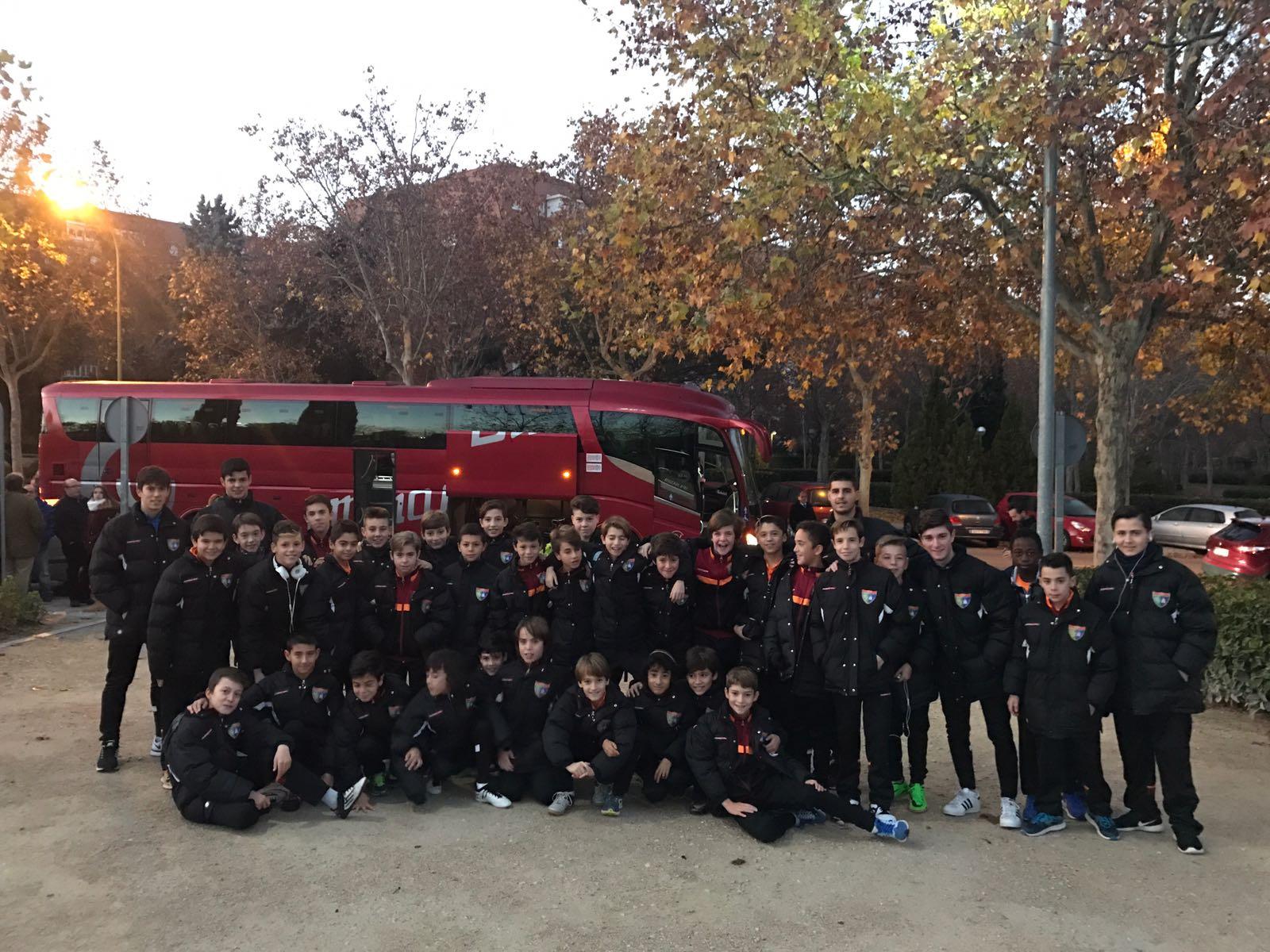 El Infantil C y el Alevín A disfrutarán hoy de una jornada especial en Valladolid
