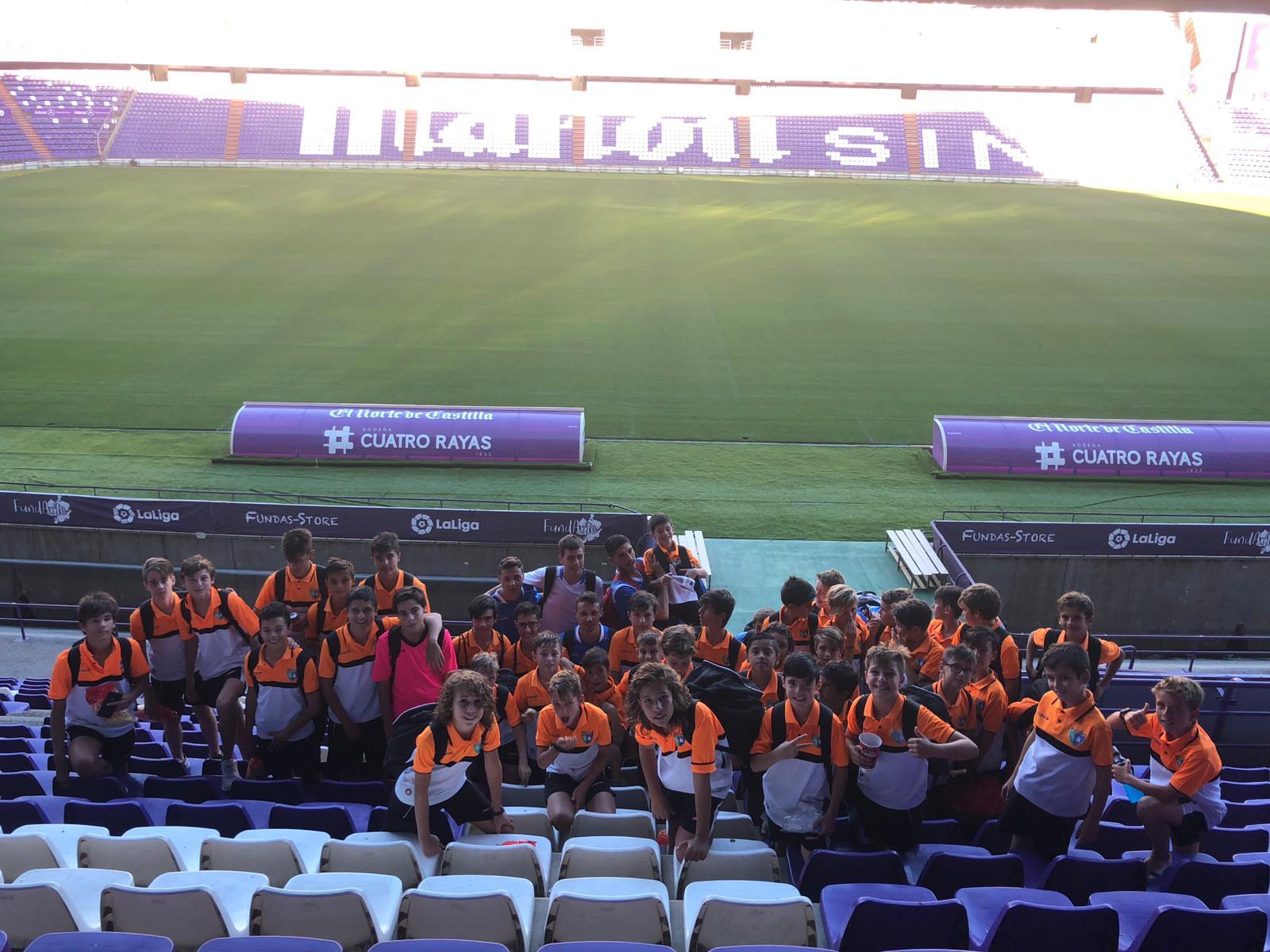 Valladolid | Una experiencia muy positiva para nuestros equipos