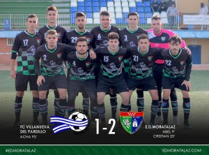 FC Villanueva del Pardillo 1-2 Primer Equipo