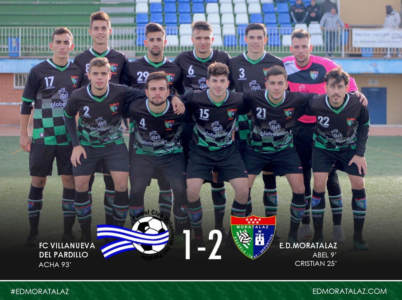 Fotogalería y goles del partido FC Villanueva del Pardillo 1-2 Primer Equipo