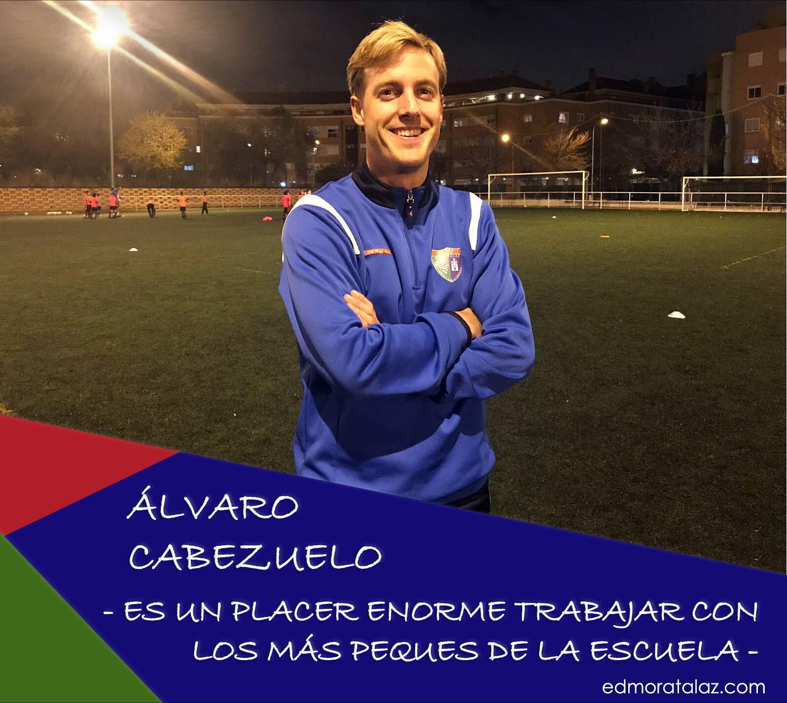 Álvaro Cabezuelo: «Es un placer enorme trabajar con los más peques de la Escuela»