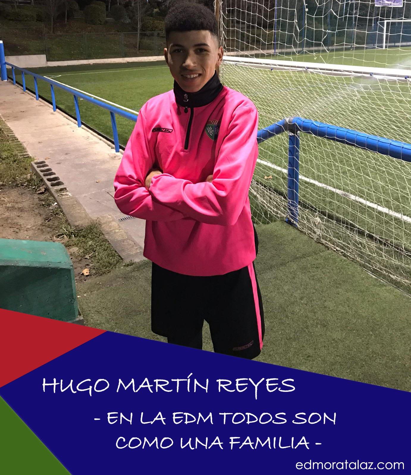 """Hugo Martín Reyes: """"En la EDM todos son como una familia"""""""