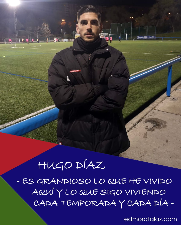 """Hugo Díaz: """"Es grandioso lo que he vivido aquí y lo que sigo viviendo cada temporada y cada día"""""""