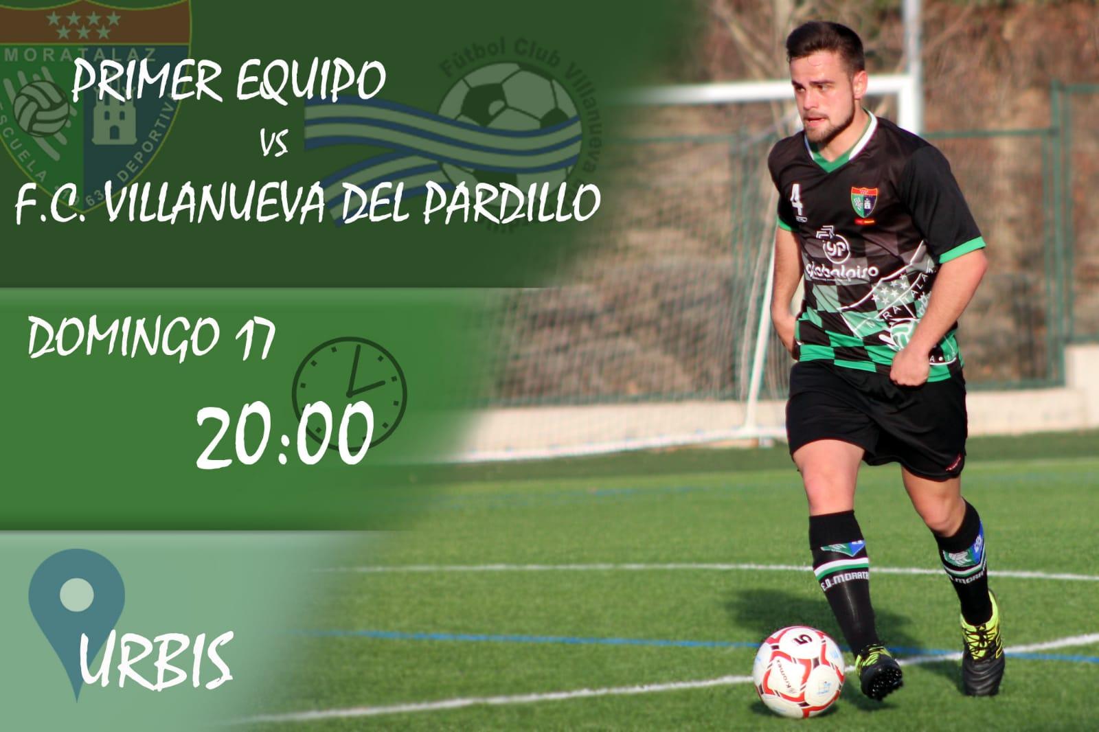 PREVIA I Primer Equipo – FC Villanueva del Pardillo