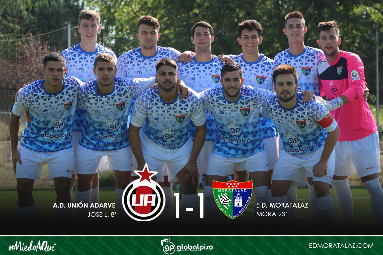 Buen partido y buen empate del Primer Equipo en su visita al Unión Adarve