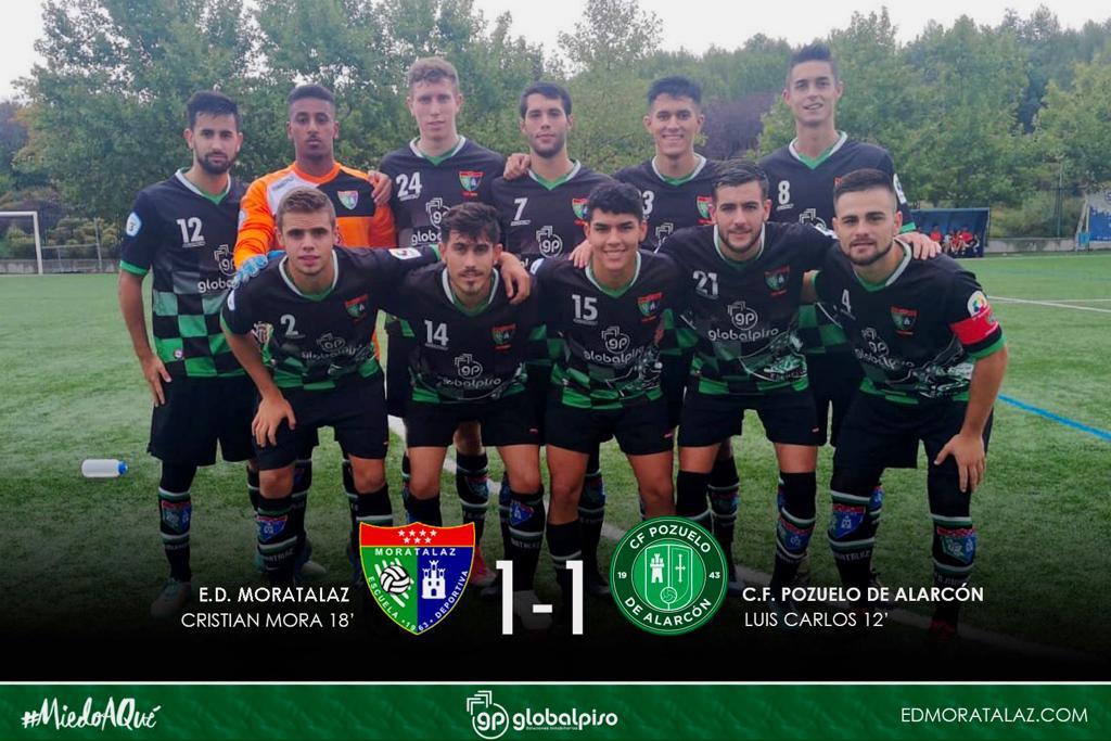 El Primer Equipo consiguió su primer punto como local frente al CF Pozuelo