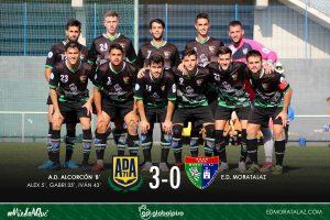 AD Alcorcón B 3-0 Primer Equipo
