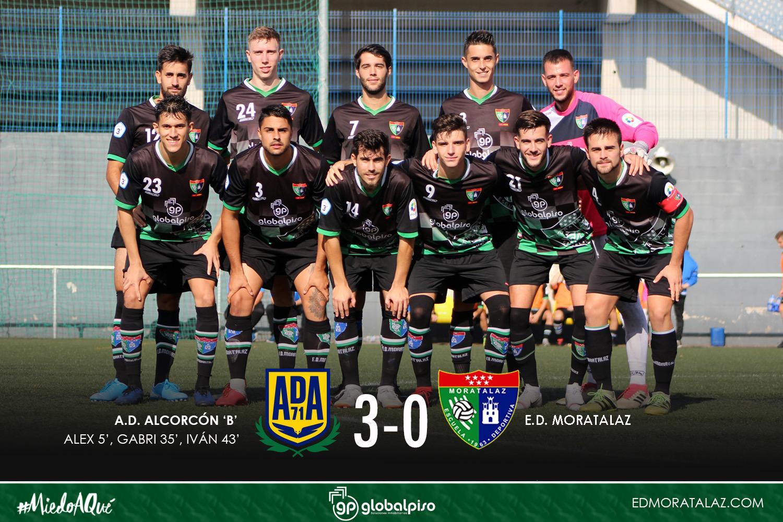 Dura derrota del Primer Equipo en su visita al AD Alcorcón B