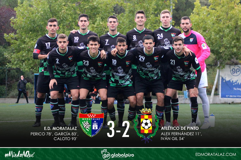 Remontada apoteósica del Primer Equipo frente al Atlético Pinto
