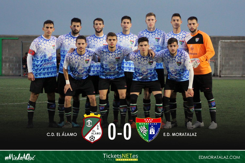 El Primer Equipo consigue un punto en su visita al CD El Álamo