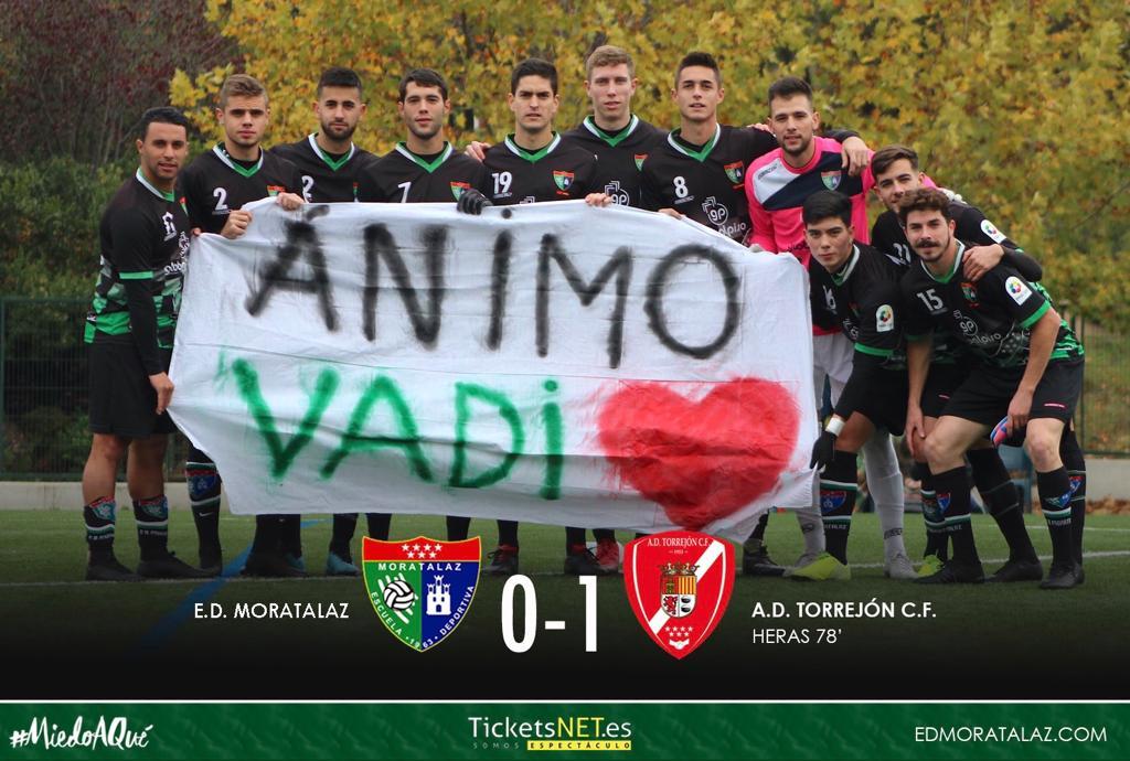 Dura derrota del Primer Equipo por la mínima (0-1) frente al AD Torrejón CF