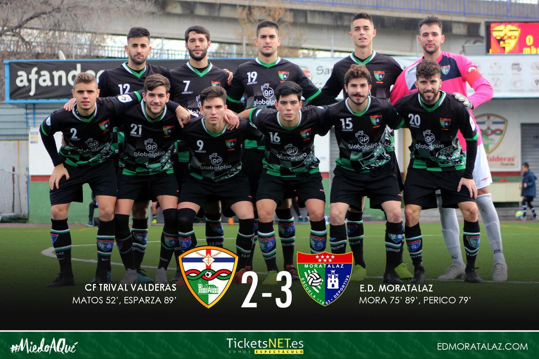 Victoria de prestigio para el Primer Equipo (2-3) en su visita al Trival Valderas CF