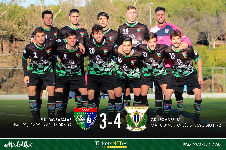 Fotogalería y vídeo resumen del Primer Equipo 3-4 CD Leganés B