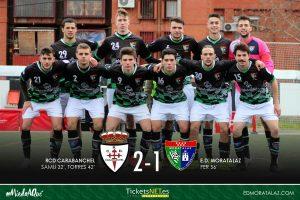 RCD Carabanchel 2-1 Primer Equipo