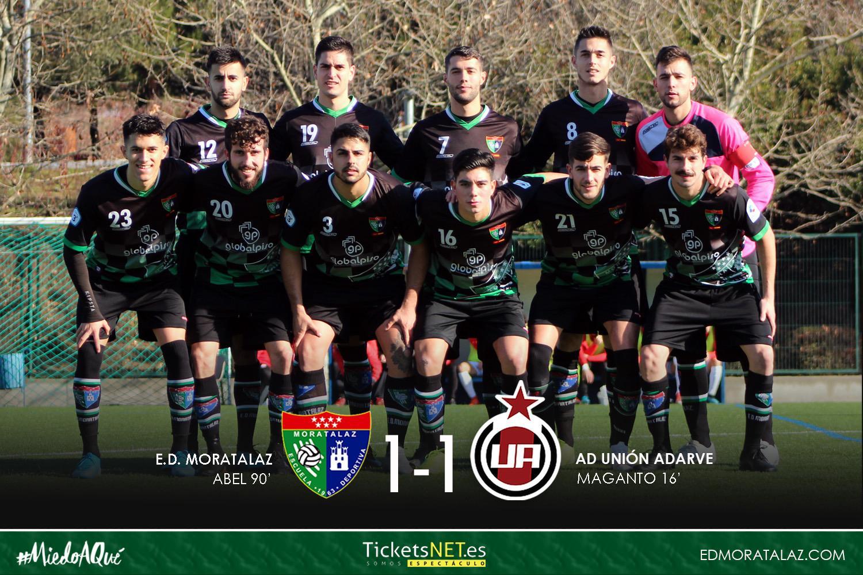 El Primer Equipo saca un empate en el último minuto con un golazo de Abel ante el Unión Adarve