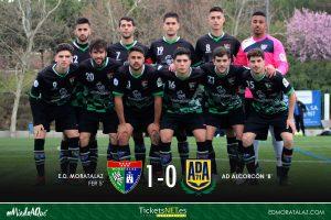 Primer Equipo 1-0 AD Alcorcón B