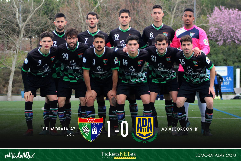 El Primer Equipo recupera la senda de la victoria frente al AD Alcorcón B