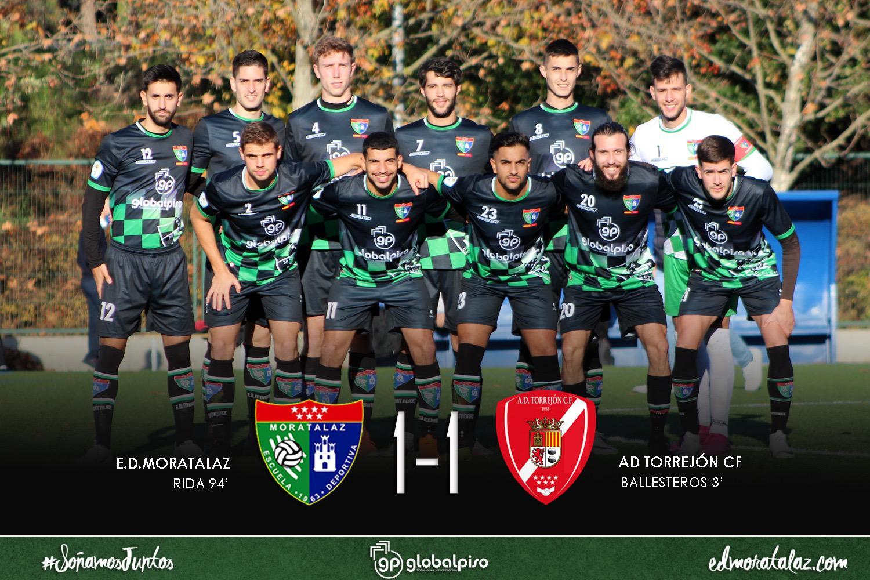 El Primer Equipo sumó un punto con sabor a victoria ante el AD Torrejón CF
