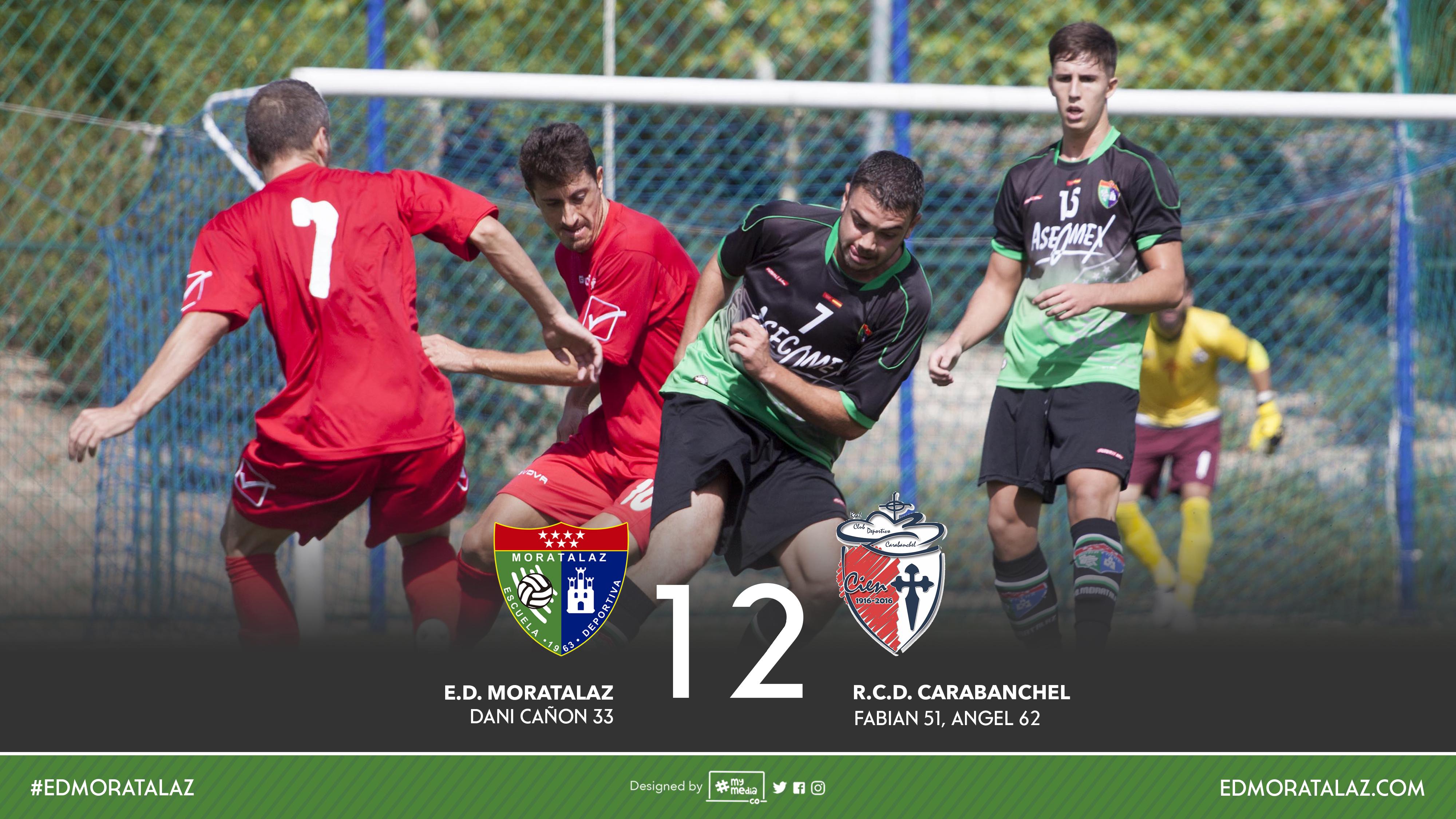 Fotos y vídeo resumen del partido Primer Equipo 1-2 Real CD Carabanchel