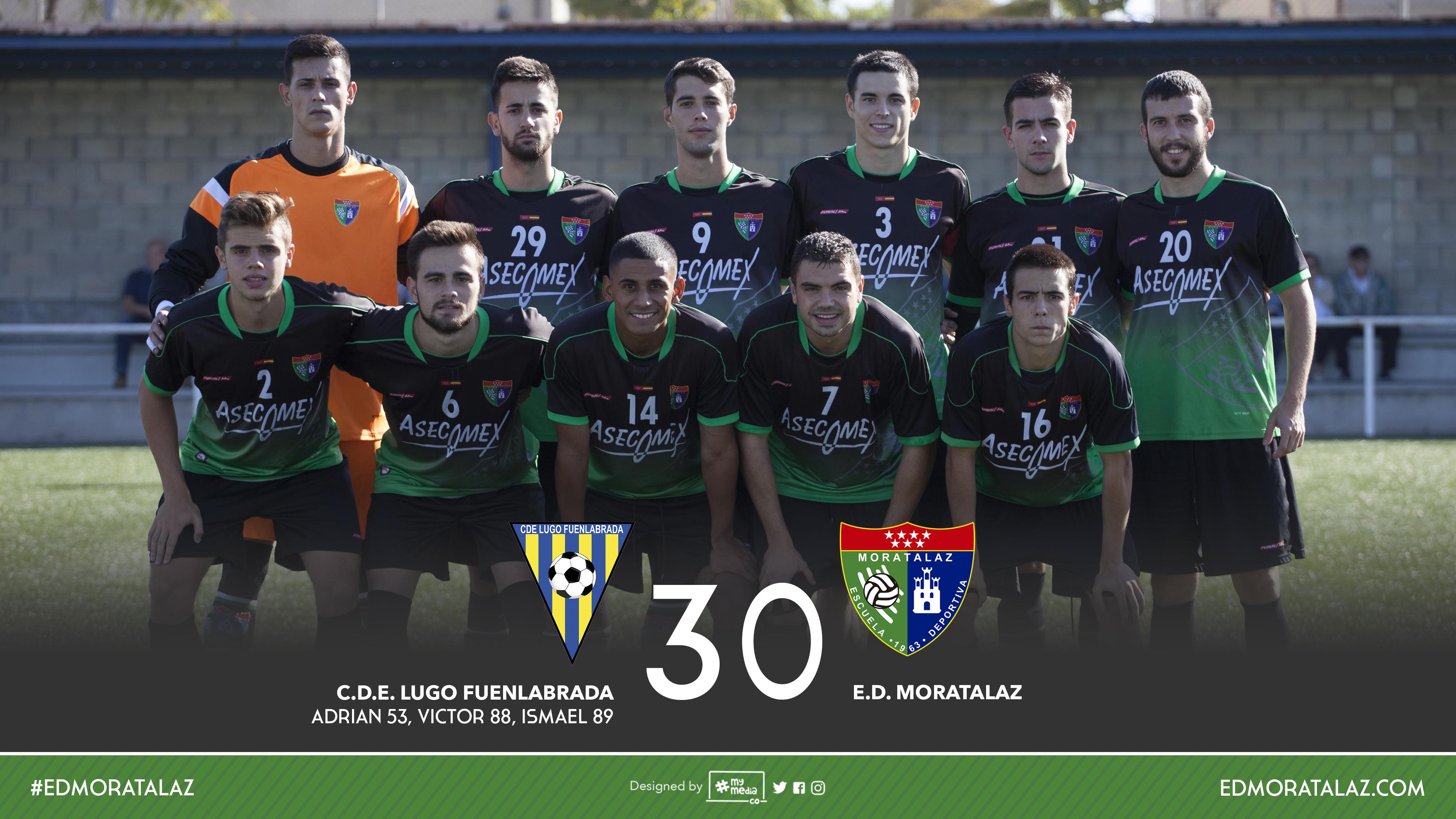 Fotos y vídeo resumen del partido CDE Lugo Fuenlabrada 3-0 Primer Equipo