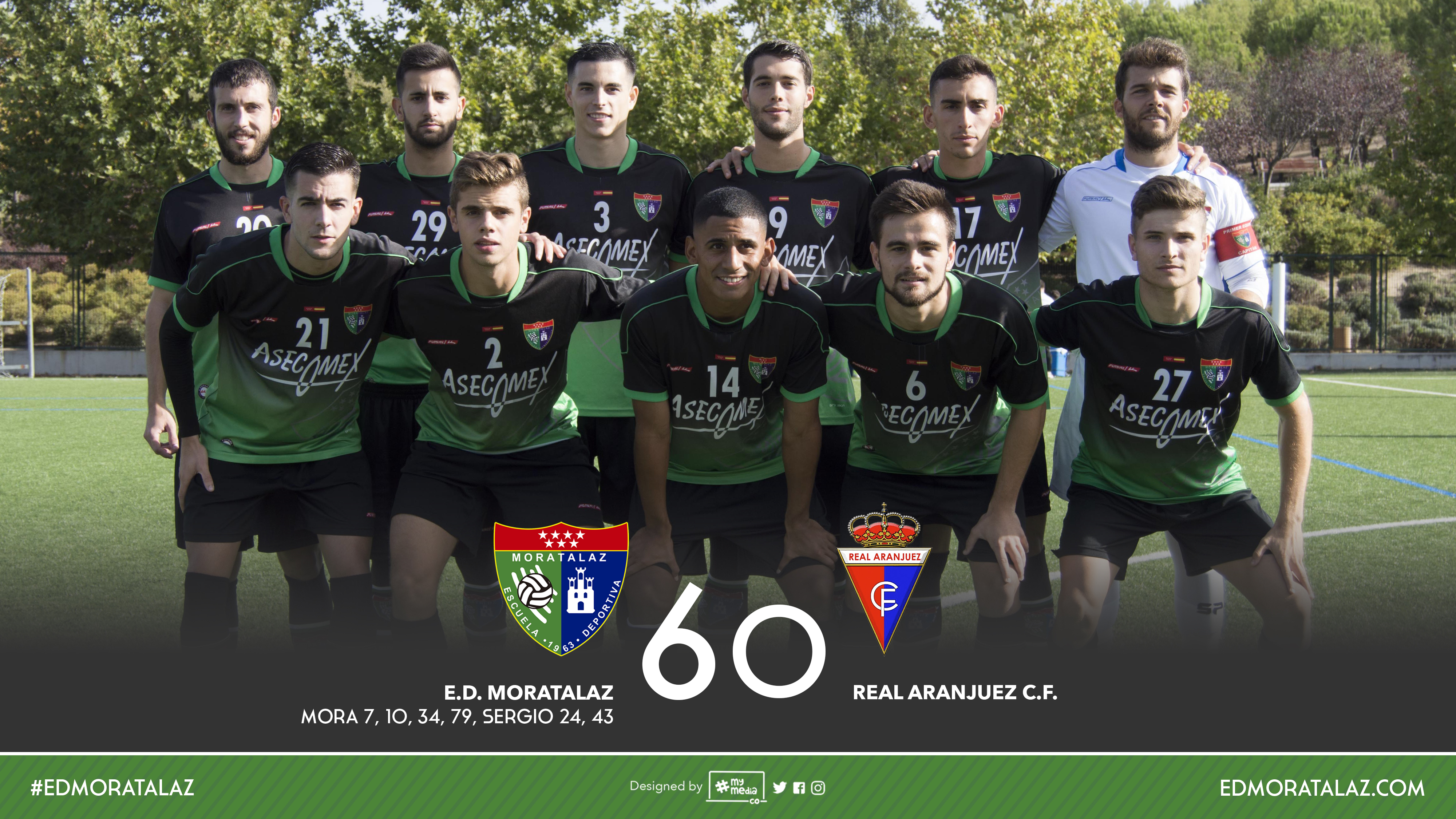 Fotos y vídeo resumen del partido Primer Equipo 6-0 Real Aranjuez C