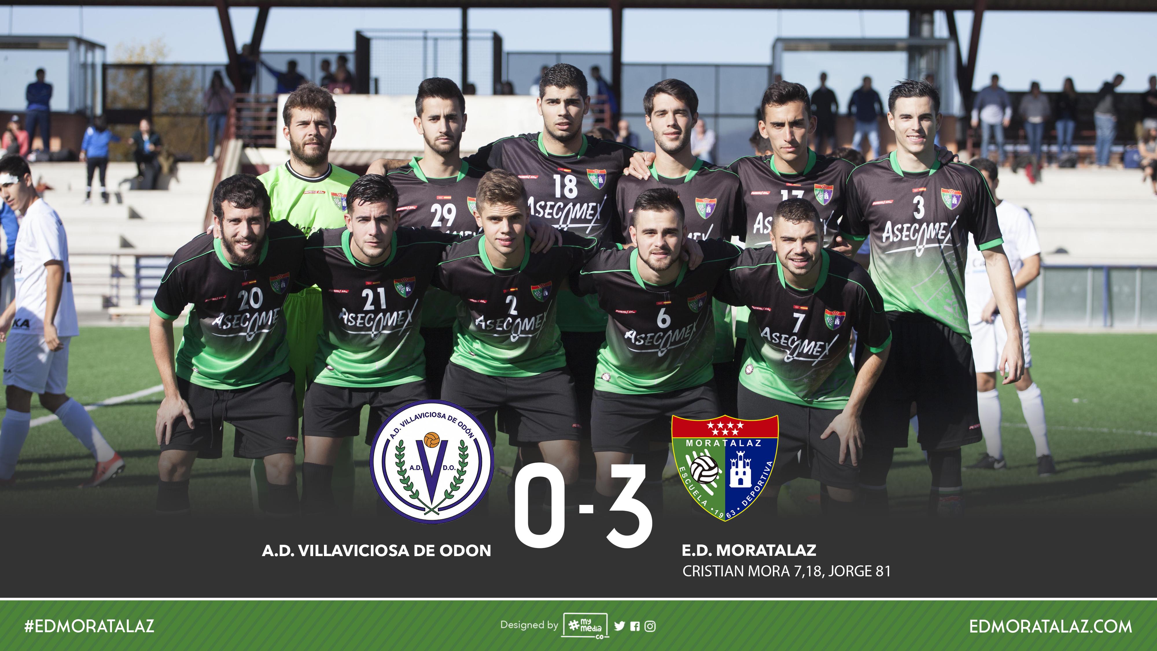 Fotos y vídeo resumen del partido Villaviciosa de Odón 0-3 Primer Equipo
