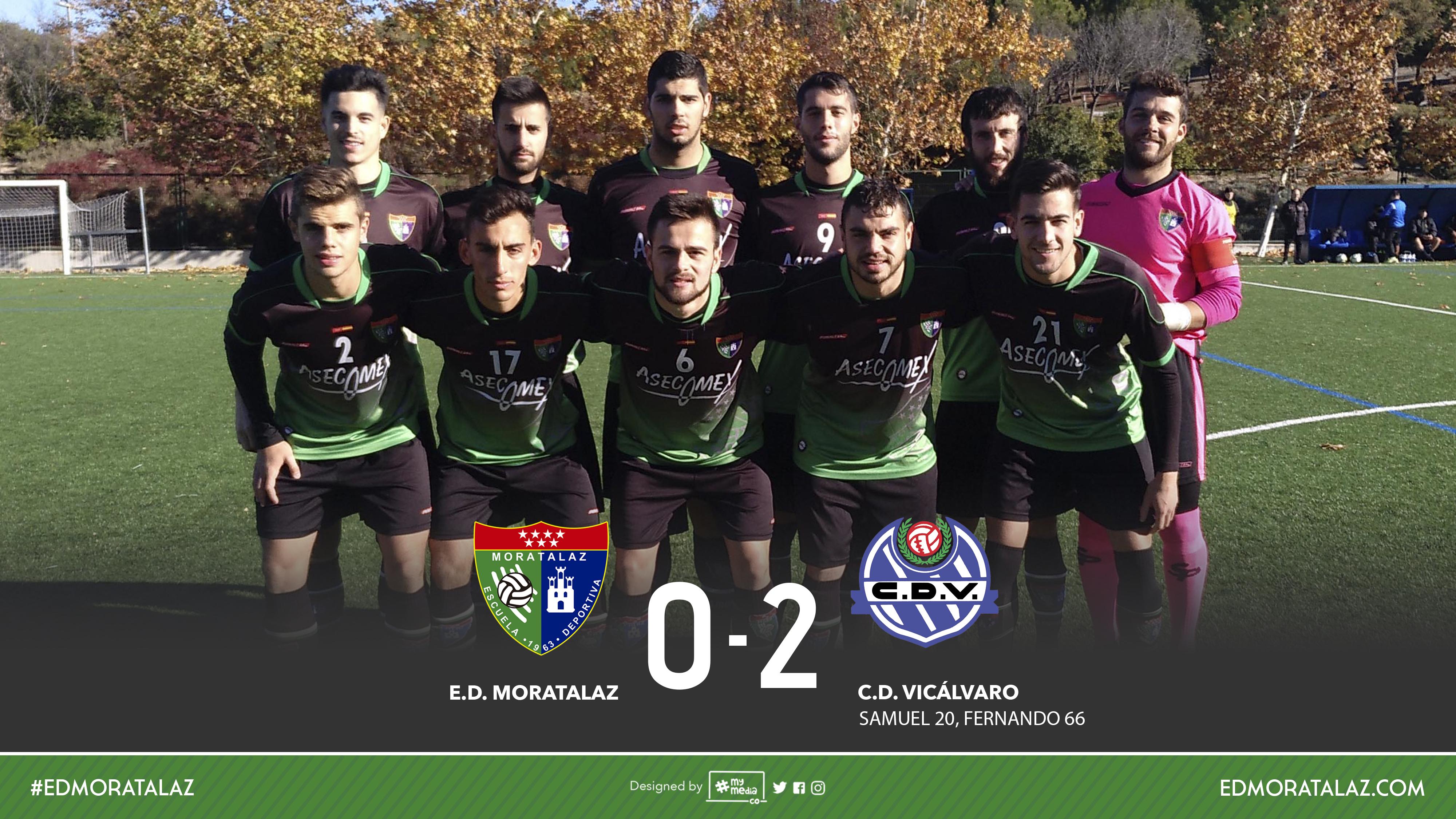 Fotos y vídeo resumen del partido Primer Equipo 0-2 CD Vicálvaro