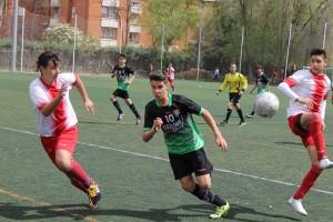 Foto del partido de liga Complutense Alcalá A - EDM infantil A
