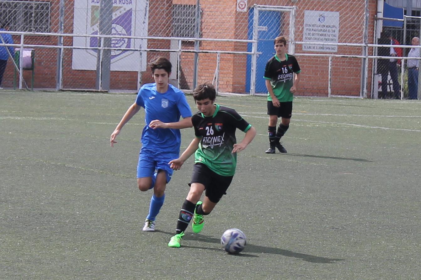 Fotos del partido amistoso Villa Rosa B 0 – 8 EDM Cadete C