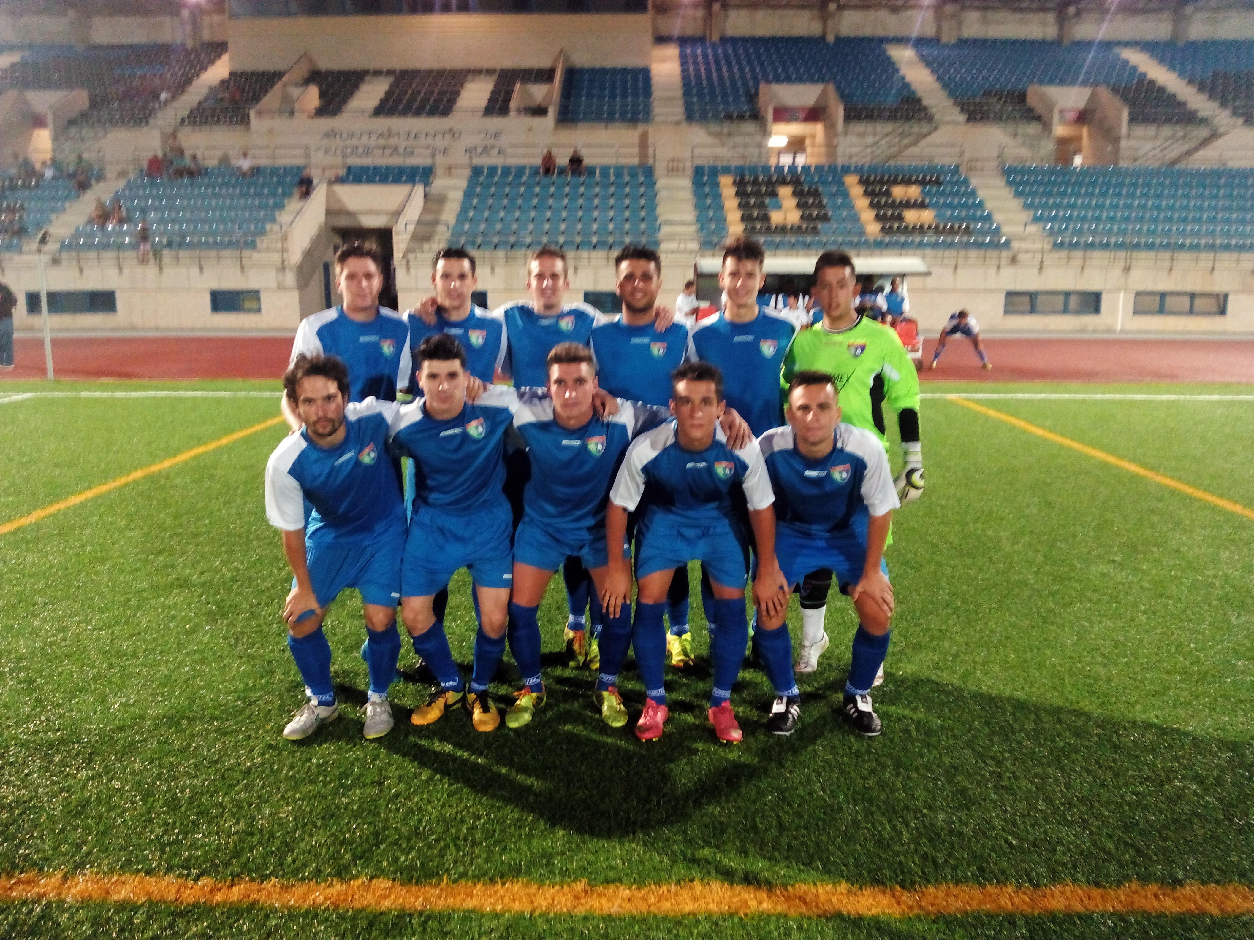 Mucho oficio y poco fútbol en el empate del Aficionado A ante el Atlético Roquetas