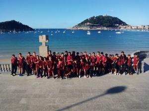 El Cadete A y el Infantil A, en San Sebastián