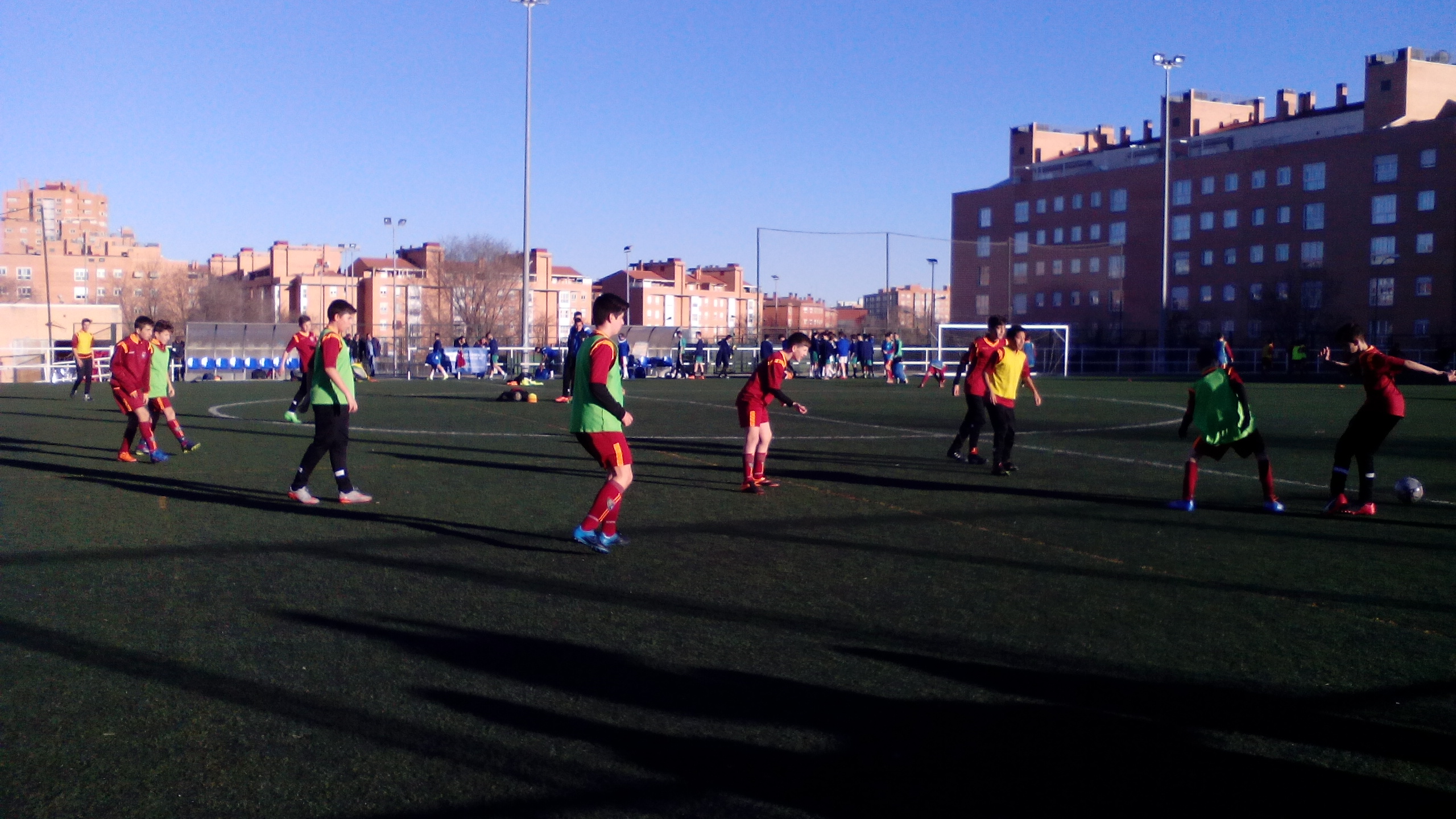 Infantil C, un equipo que vive los partidos con intensidad