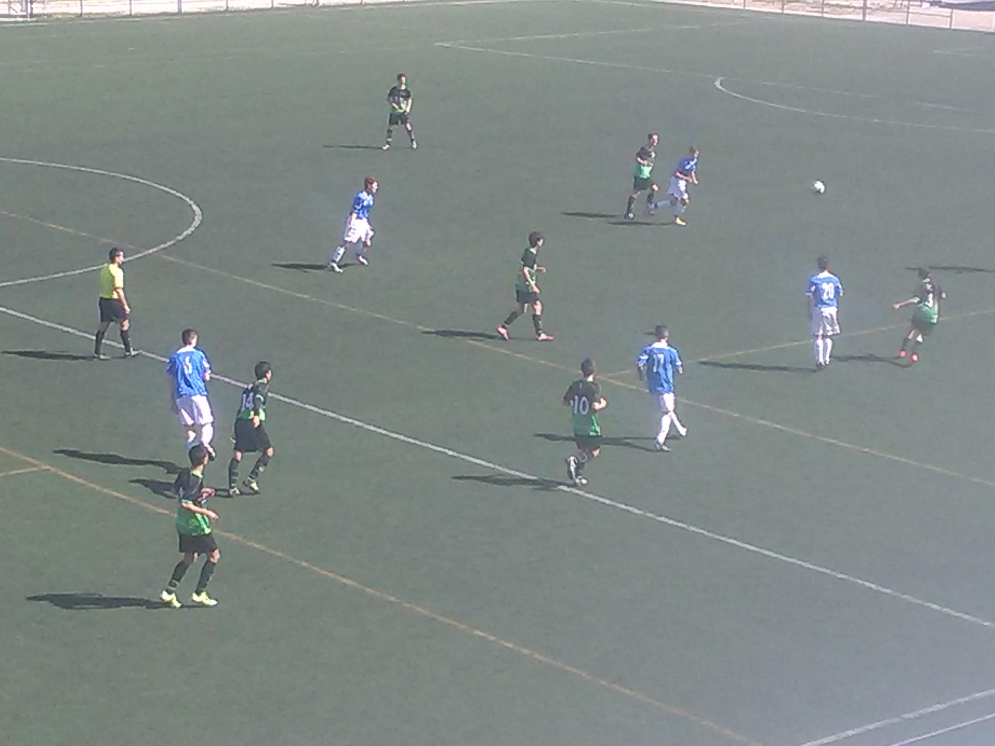 Crónica, fotos y vídeos del partido de liga EDM Cadete B 4 – 0 CD Vicálvaro D