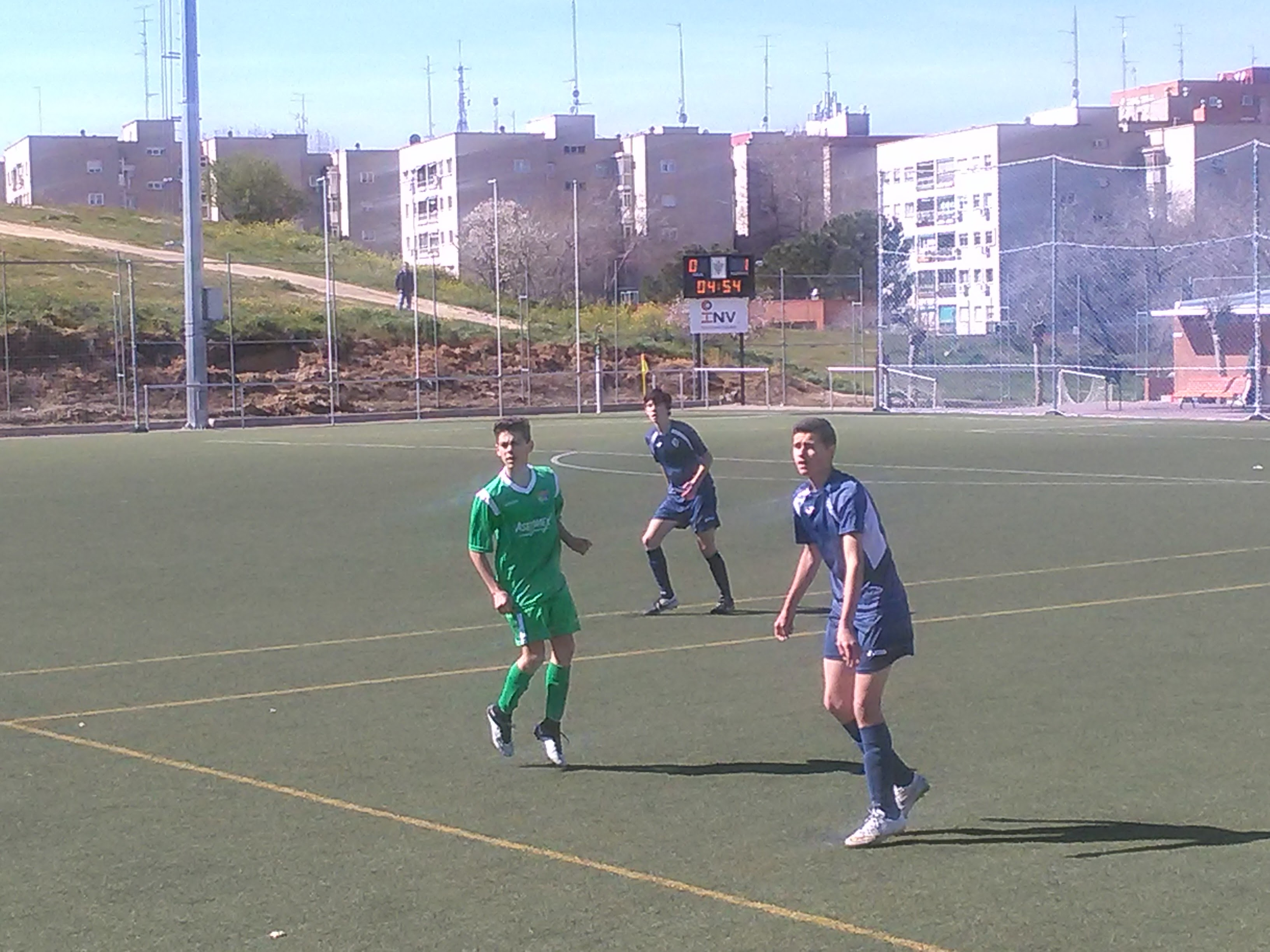 Crónica y fotos del partido de liga Sporting Hortaleza 2 – 1 EDM Cadete B