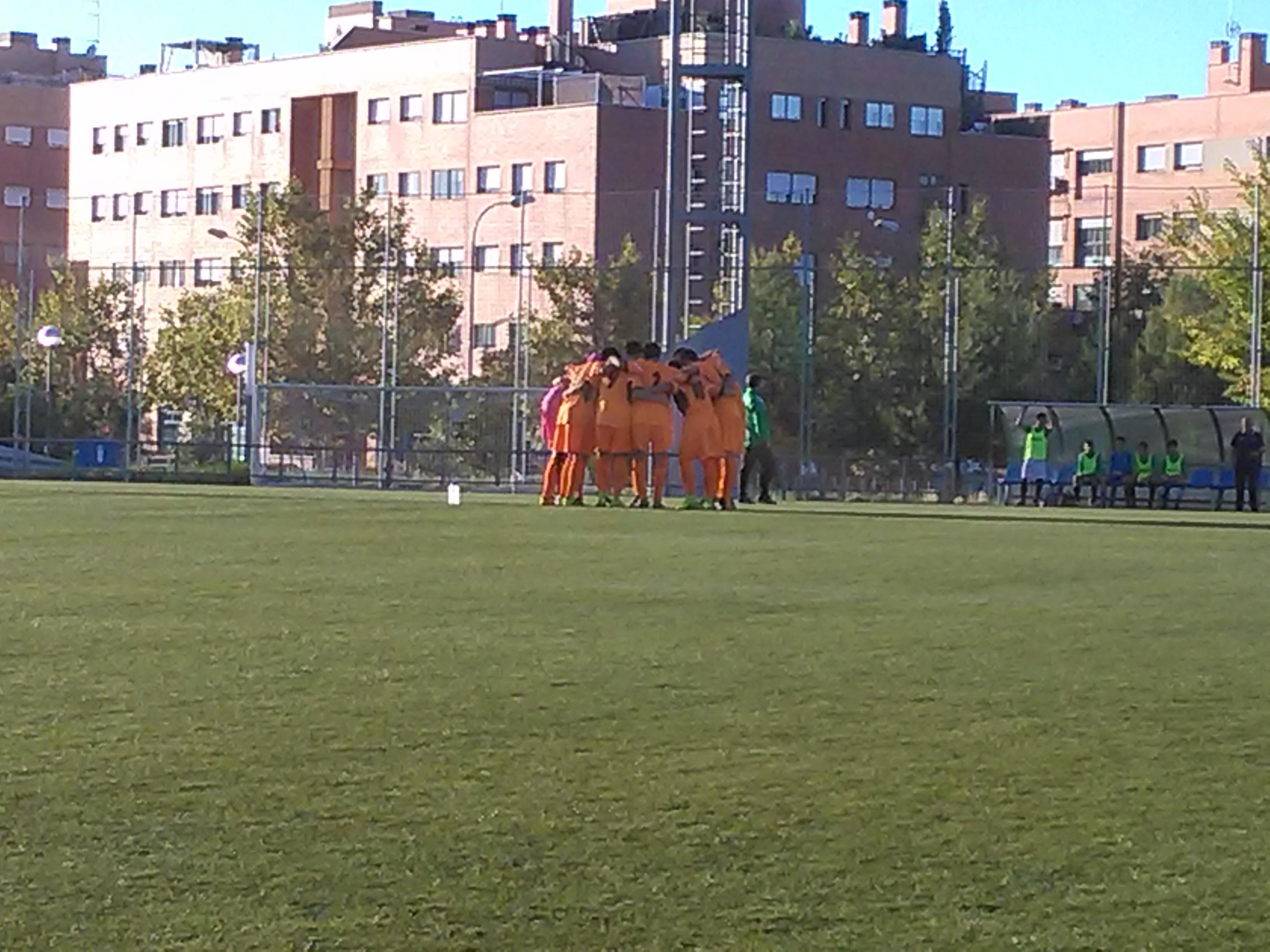 Crónica, fotos y vídeo del partido Alcobendas Levitt CF A 1 – 1 Cadete A