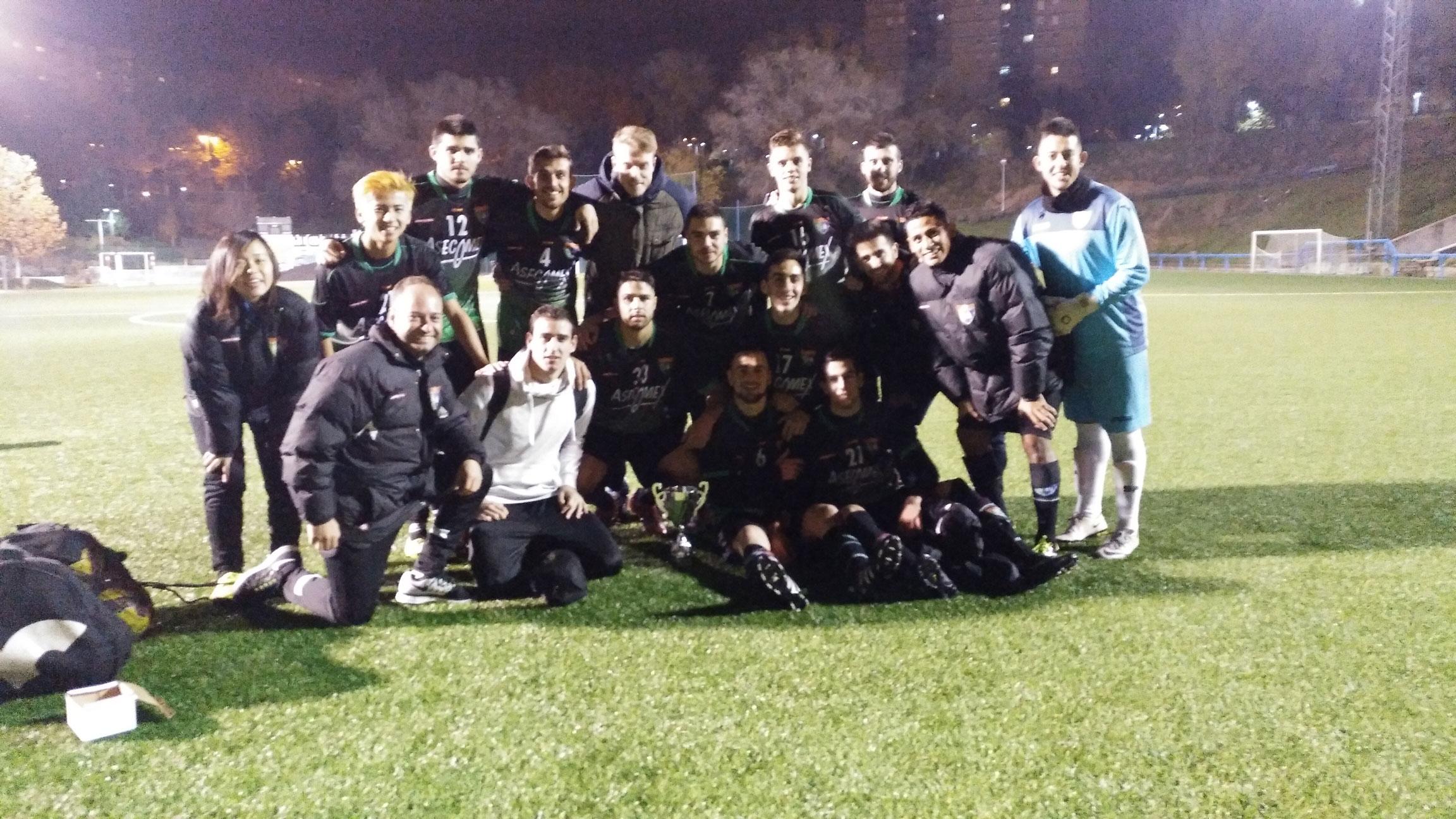 El Primer Equipo se proclamó campeón del Torneo Internacional Fútbol In Cup