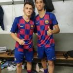 Sorín y Barroso FC Barcelona