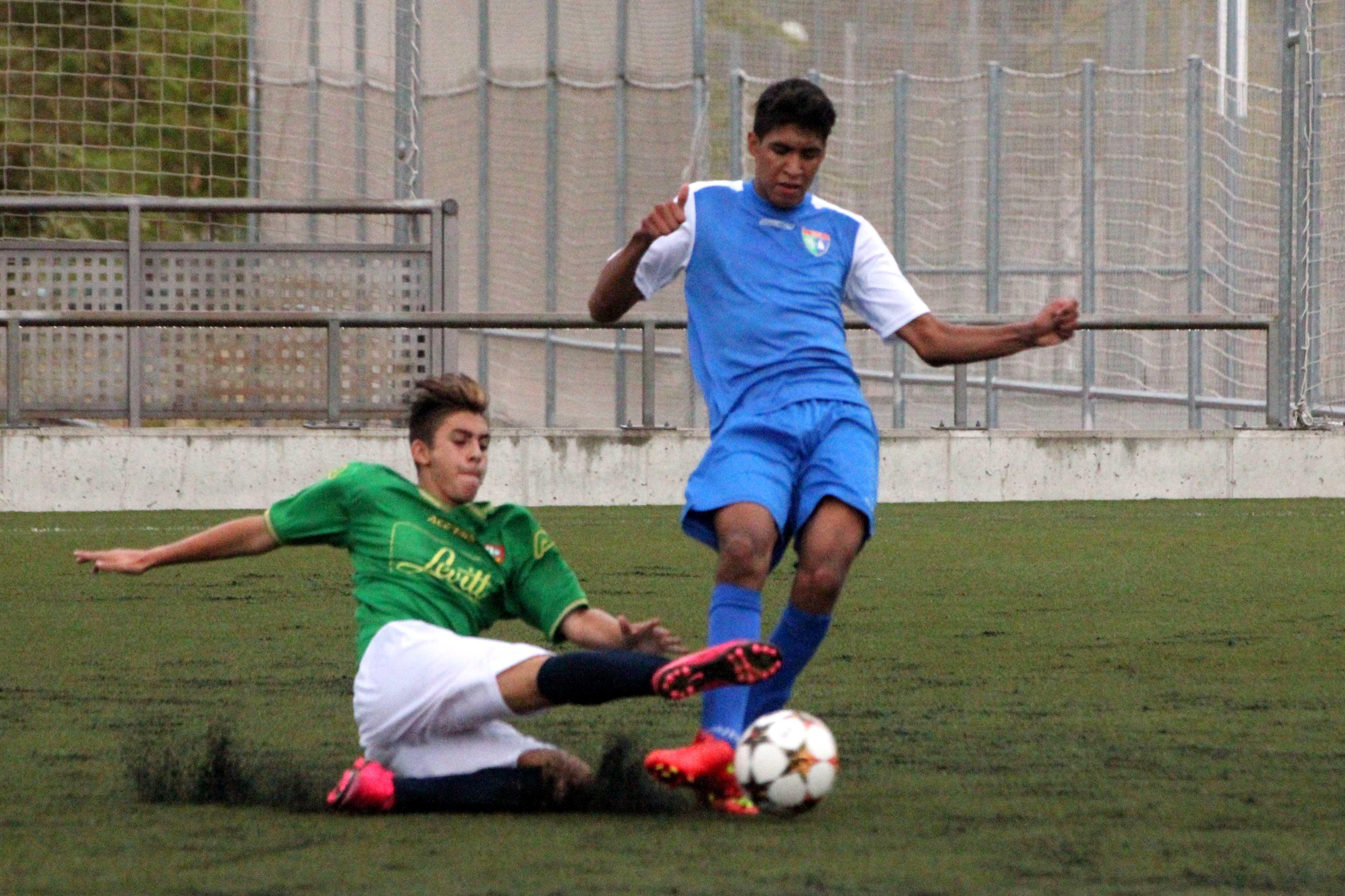 Fotos del partido de liga Alcobendas Levitt 2 – 1 EDM Cadete A