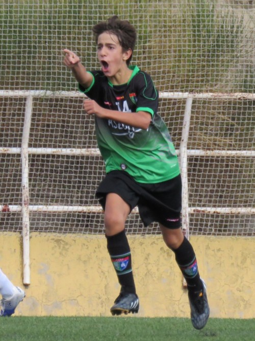 Fotos del partido de liga Adepo Palomeras B 1 – 3 EDM Infantil B