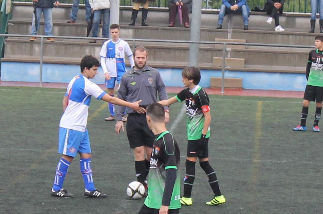 Fotos del partido CD San Roque EFF A 3 – 4 Cadete C