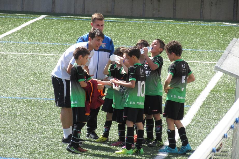 Crónica del partido de liga EDM Benjamín E 2 – 2 Colegio Newman B 2